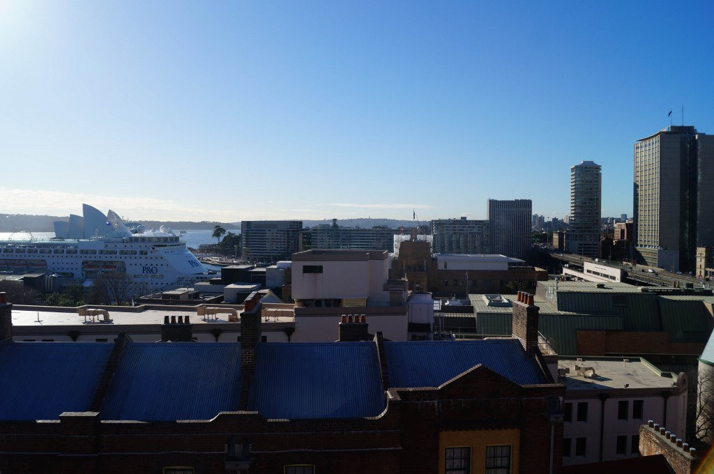 Sydney Harbour YHA View