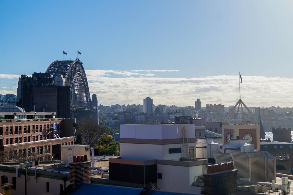 Sydney YHA Hostel Rooftop View