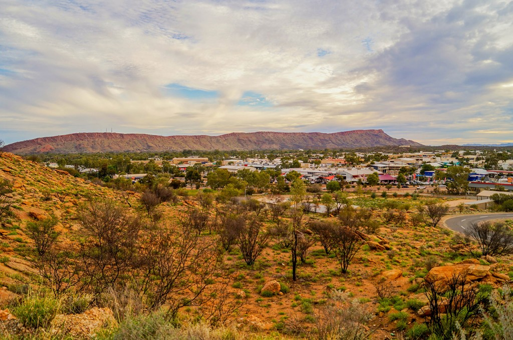 Anzac Hill Lookout Alice Springs View