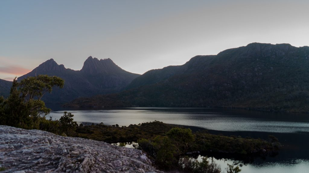 Cradle Mountain at Sunset
