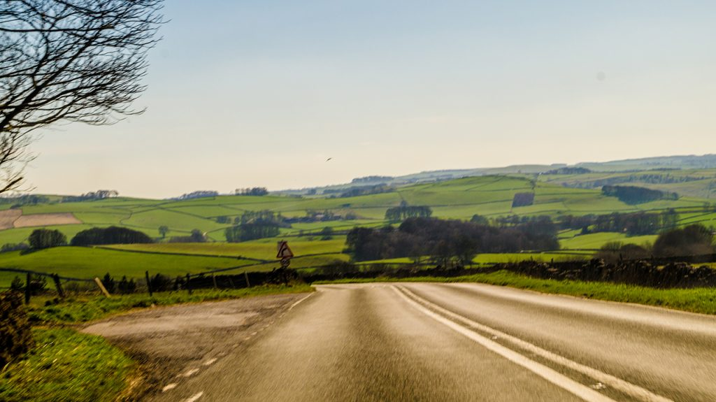 Peak District Derbyshire Road