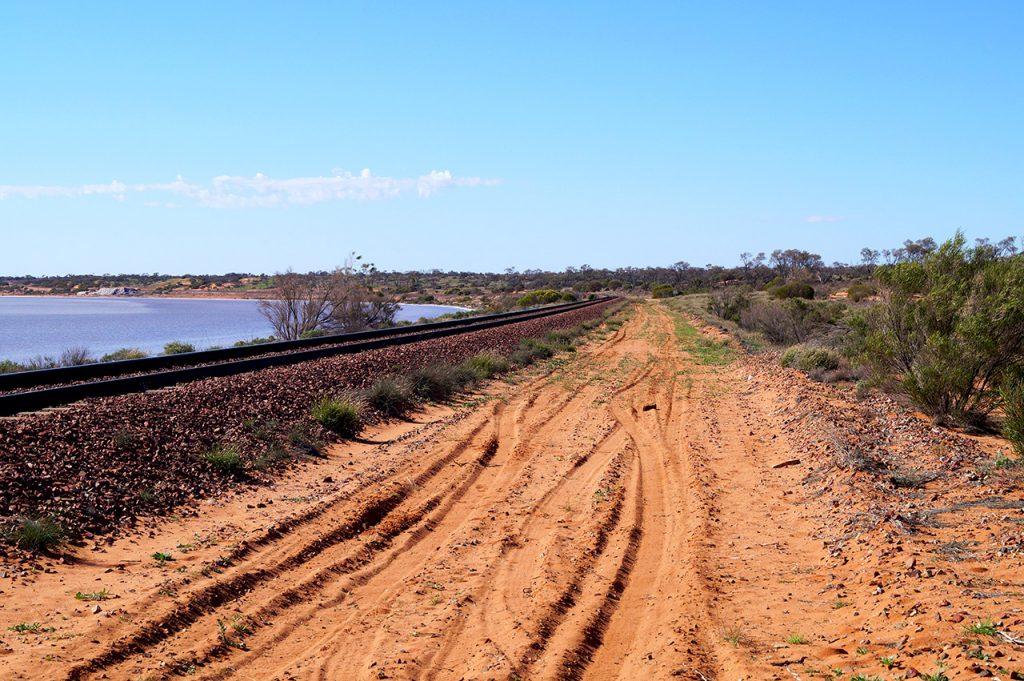 Salt Flats Ghan Railway