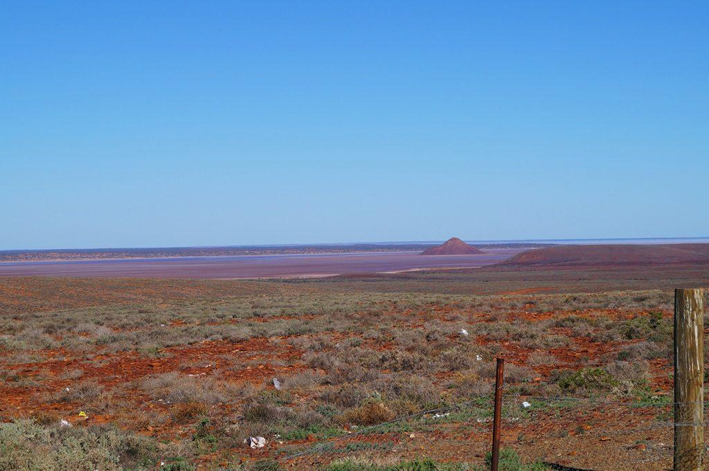 Near Salt Flats by the Ghan