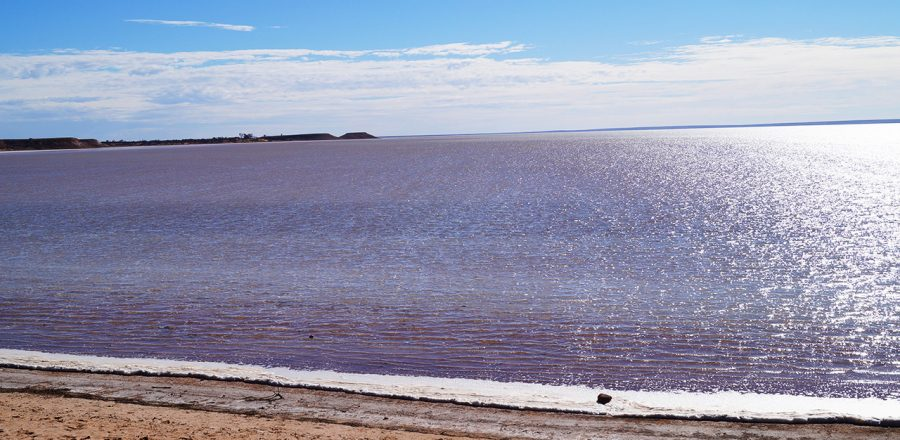 The Salt Flats of the Outback