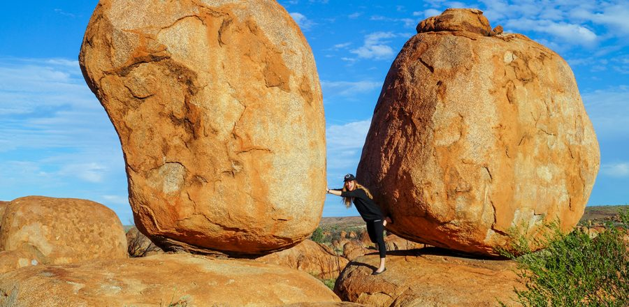 The Devils Marbles – A Rainbow Serpent's Eggs?