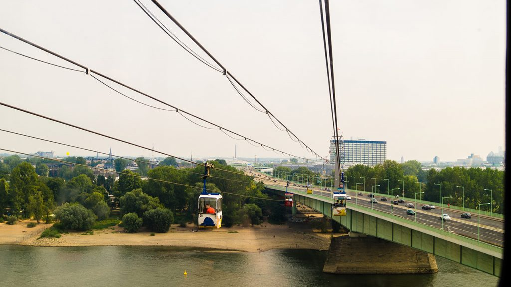 Cologne Cable Cars Across the Rhine