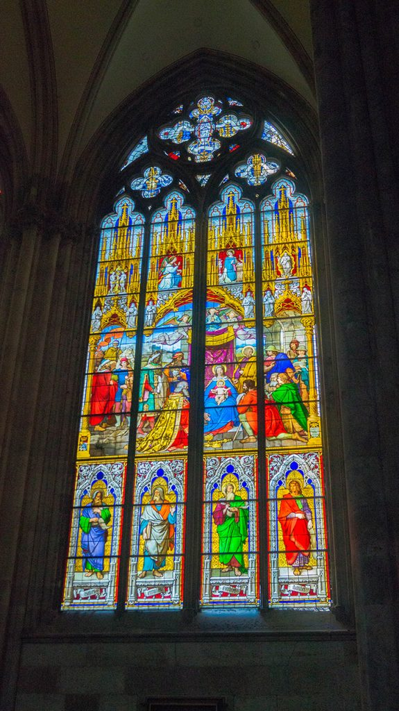 Koeln Cathedral Stain Glass Windows