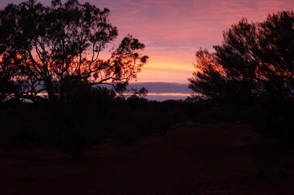 First Light at Uluru