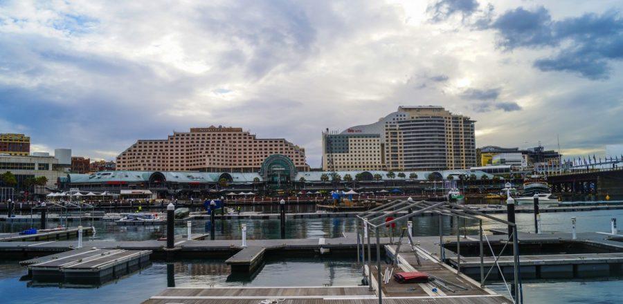 Backpacking Australia via Darling Harbour, Sydney