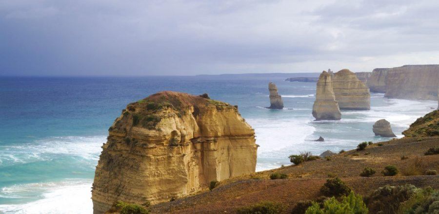 Sightseeing at The Twelve Apostles, the Great Ocean Road