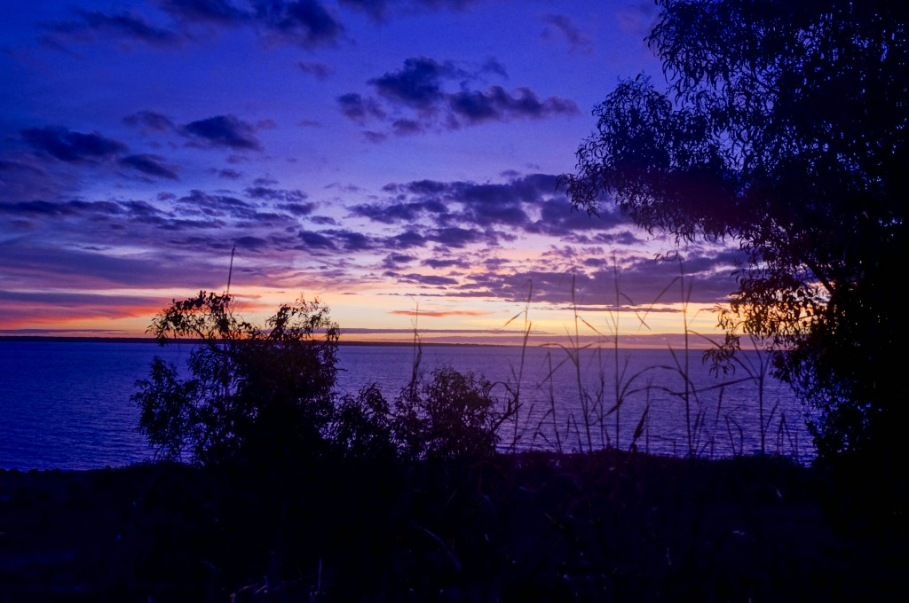 Purple sunset in Darwin