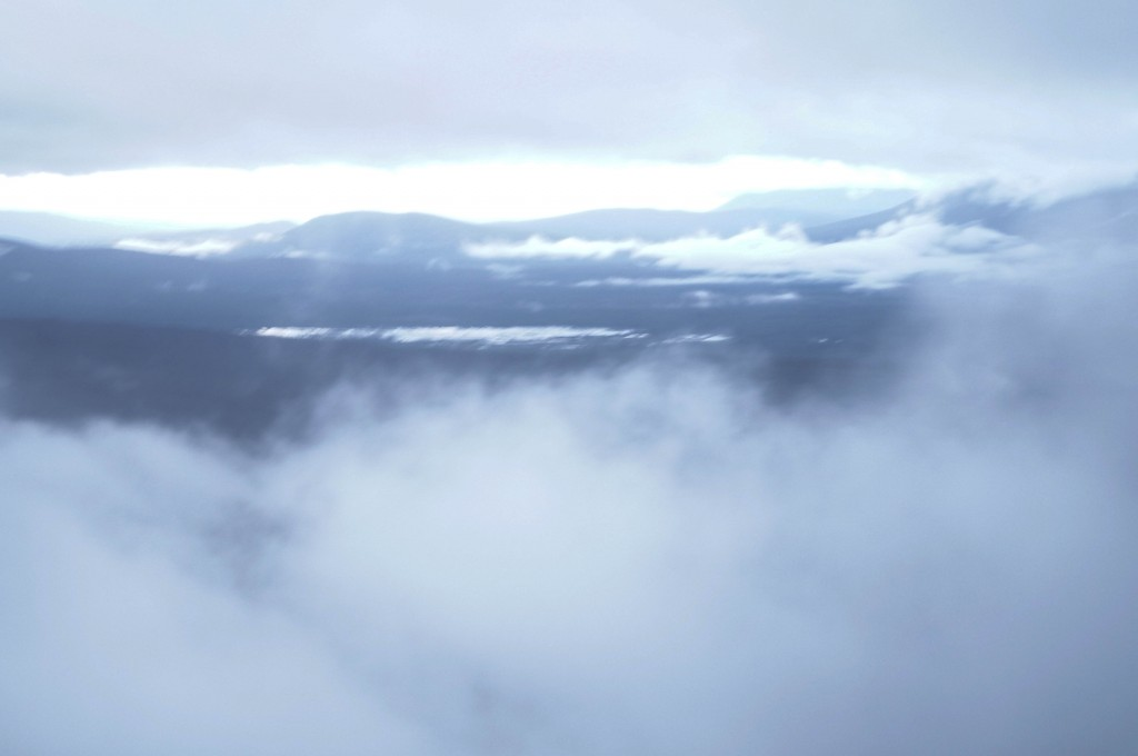 sunrise in the grampians nothing but clouds