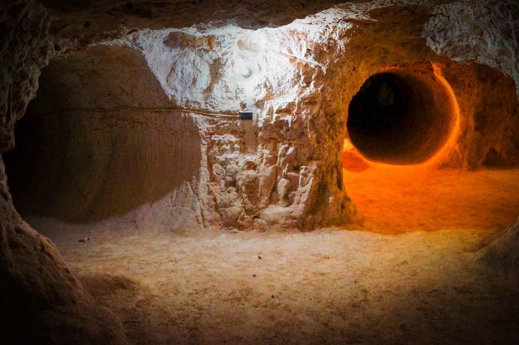 Coober Pedy Opal Mine Tunnels
