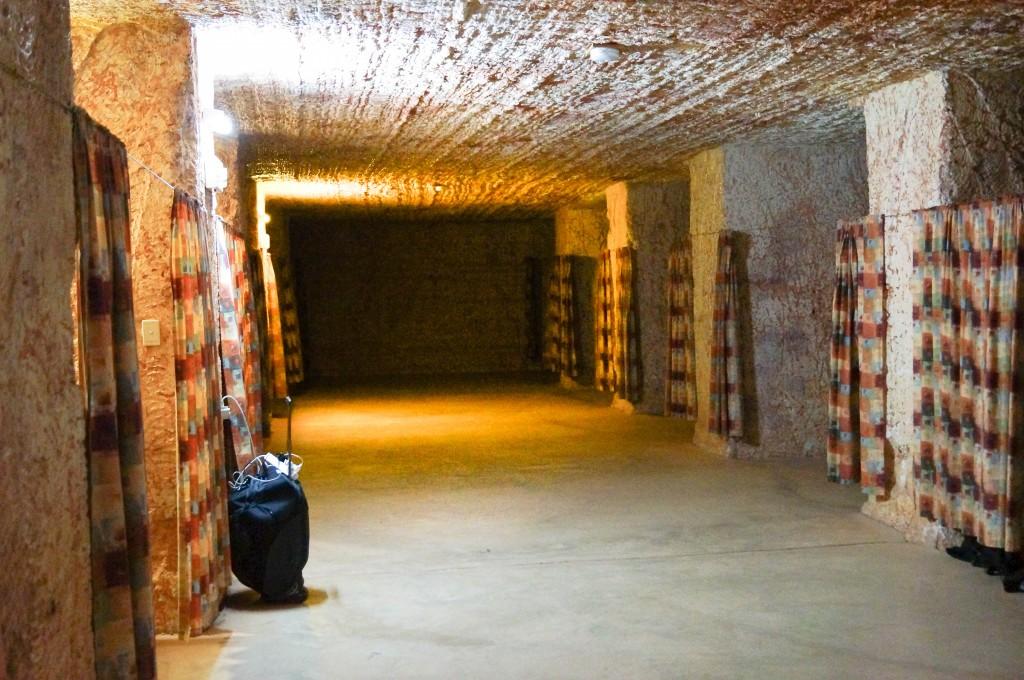 Underground Sleeping at Coober Pedy