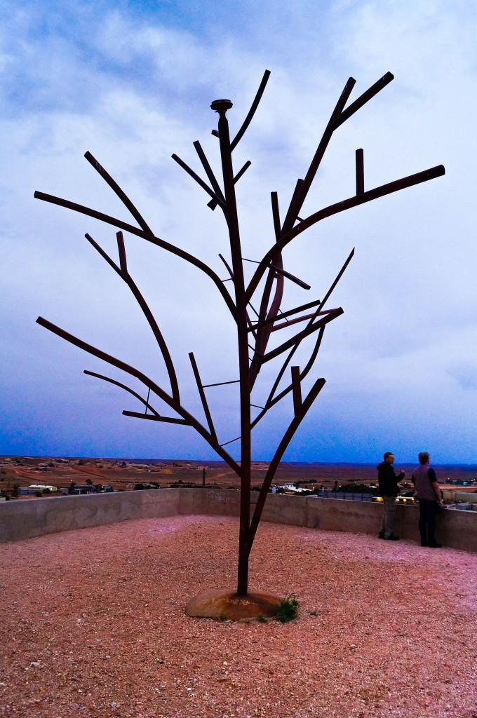 Coober Pedy Metal Tree