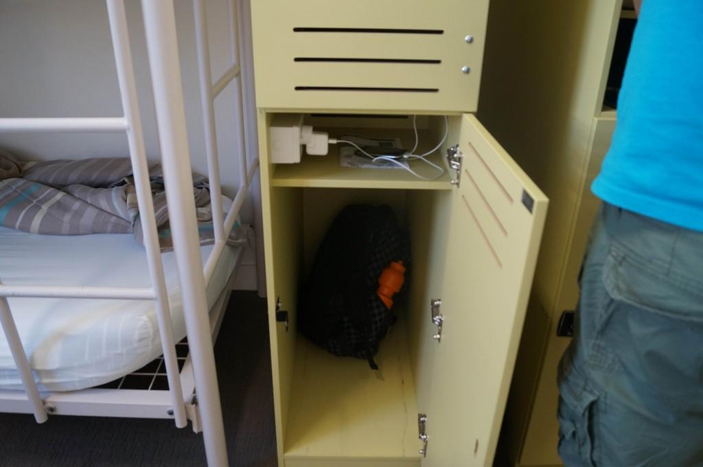 Locker Power Outlets