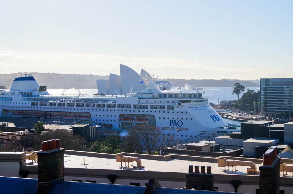 Sydney Harbour YHA View