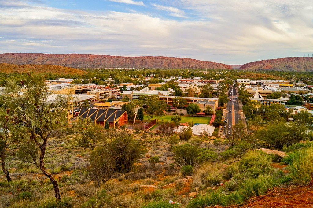 Anzac Hill Lookout Alice Springs View 2