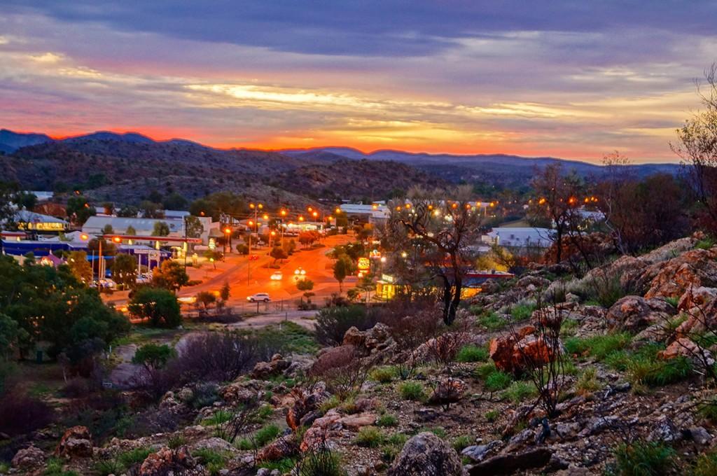 Anzac Hill Lookout Sunset