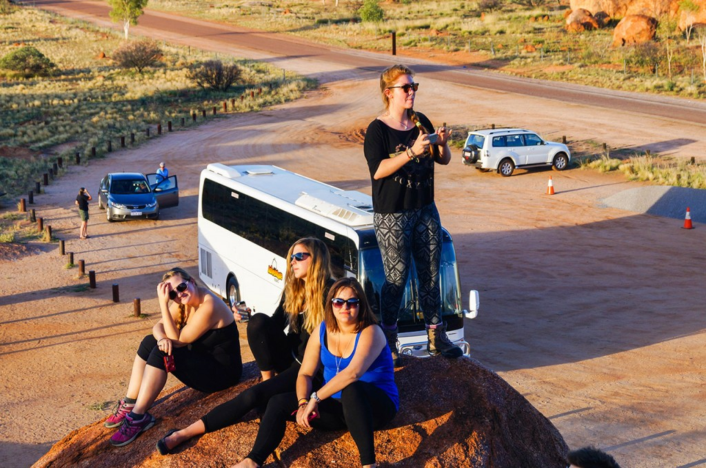 Adventure Tours Guide at Devils Marbles