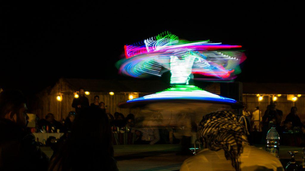 Dubai Light Dancer