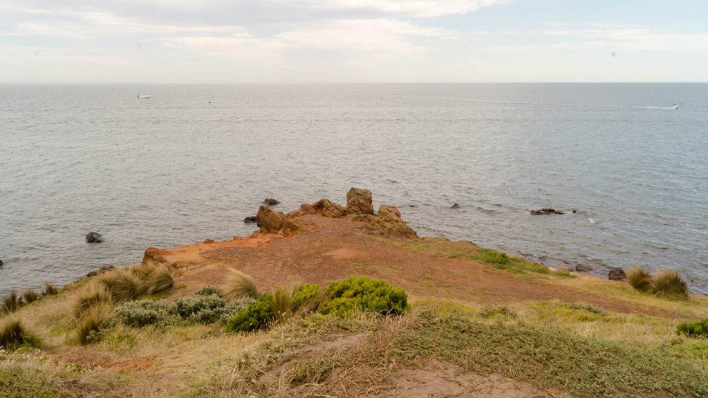 The end of Mornington Peninsula