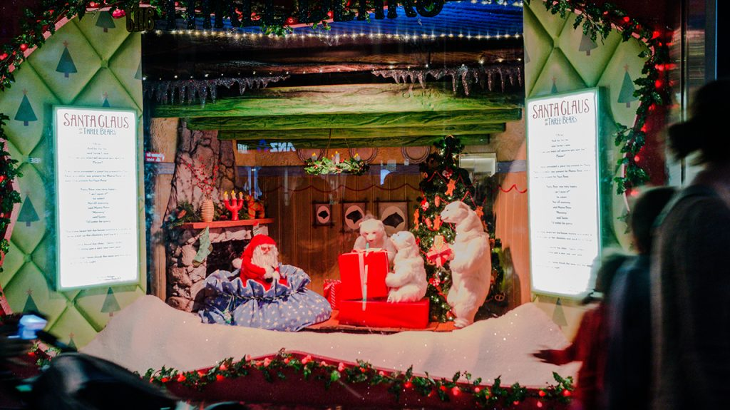 Myer Christmas Windows 2014