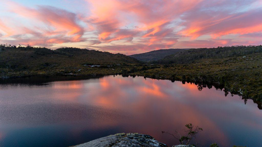 Cradle Mountain Sunset