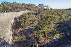 Barossa Reservoir's Whispering Wall