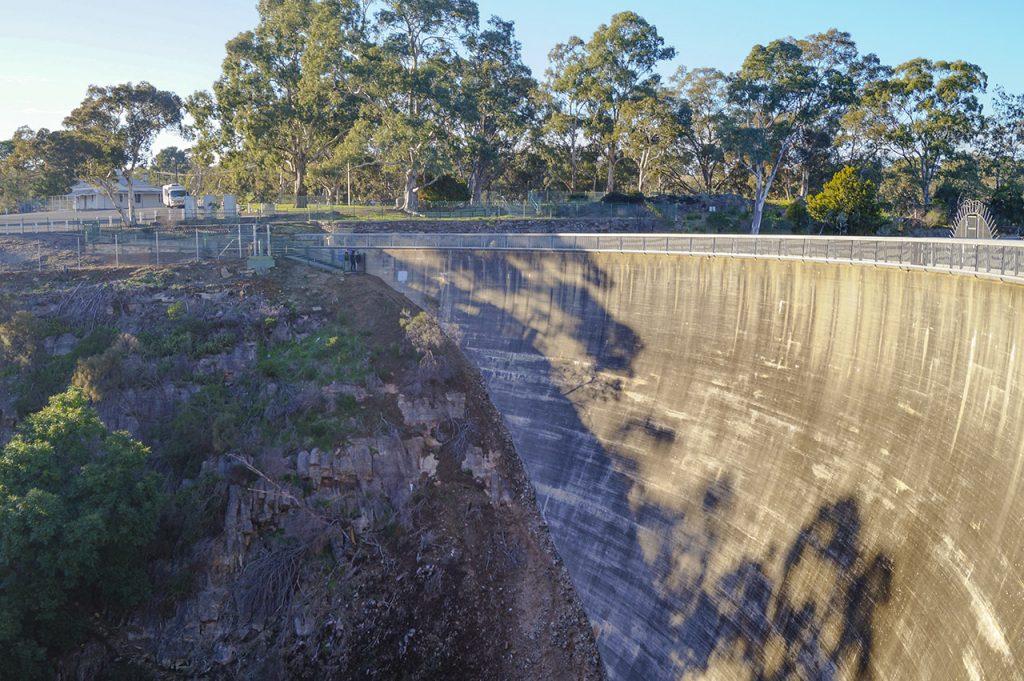 Whispering Wall South Australia