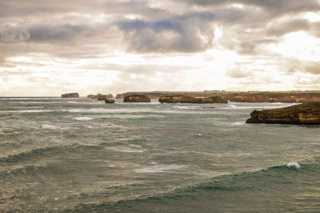 Storm brewing bay of islands