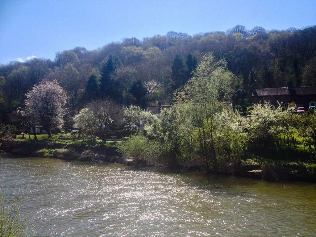 Ironbridge across the River Severn