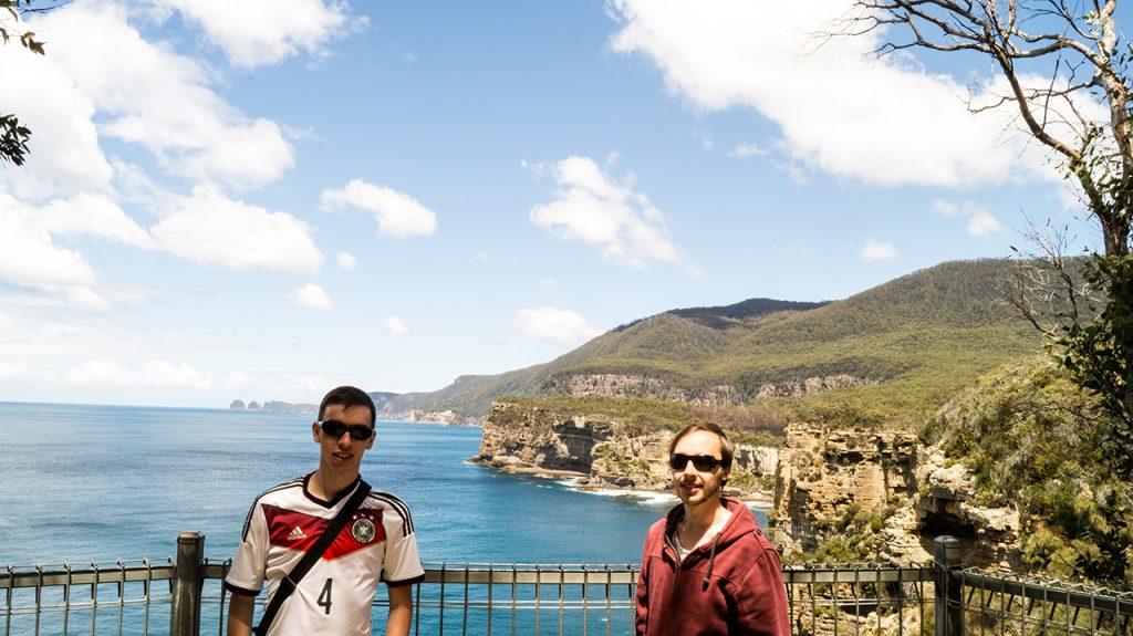 Me and Matt in Tasmania