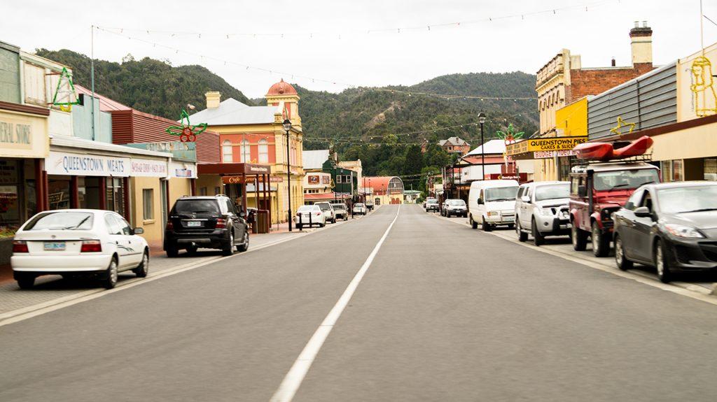 Orr Street Queenstown Tasmania