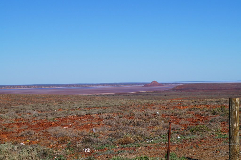 Near Salt Flats by the Ghan