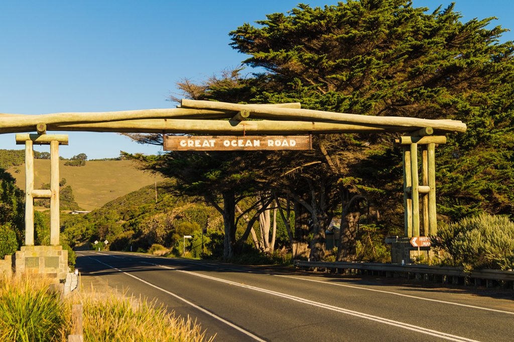 The Great Ocean Road Sign