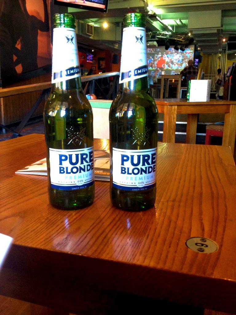 Pure Blonde Beer