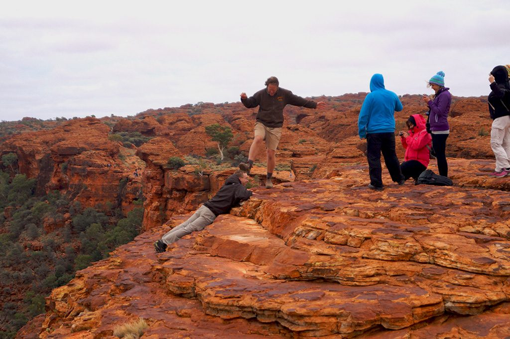Falling from Kings Canyon