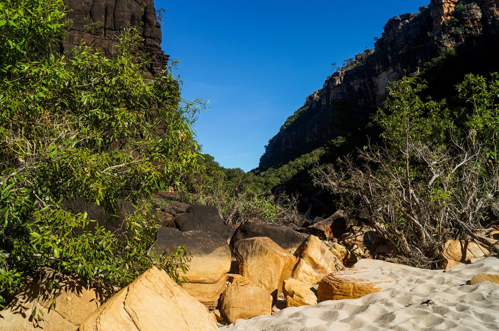 the Beach at Jim Jim Falls Kakadu National Park