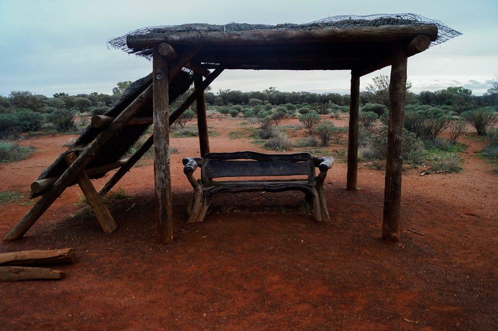 "Uluru ""shade-station"" seating"