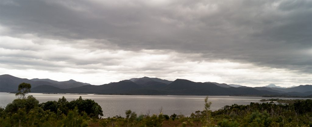 Picture of a lake in Tasmania