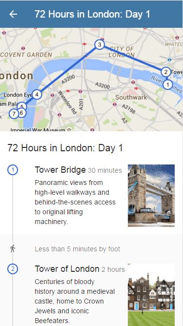72 Hours in London Itinerary