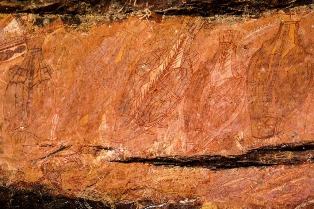 Kakadu National Park Rock Paintings