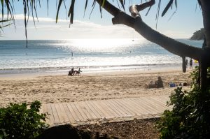 Bouncing back: Relaxing at Noosa Heads