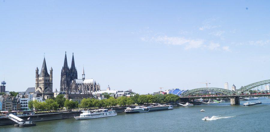 Besuchen Köln