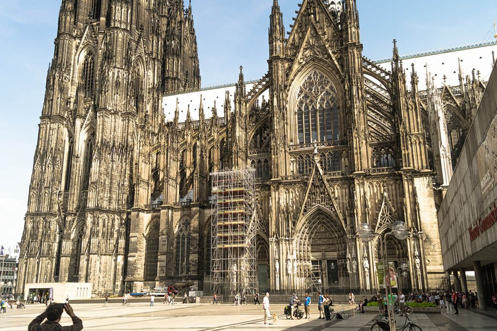 Cologne Cathedral Side View