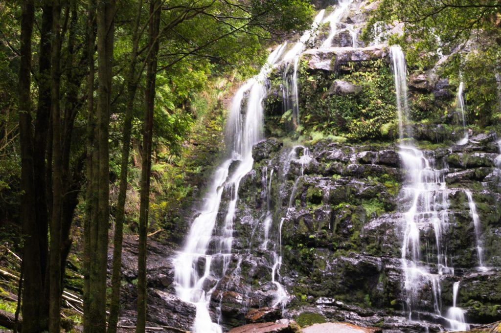 Waterfall in Tasmania, Australia