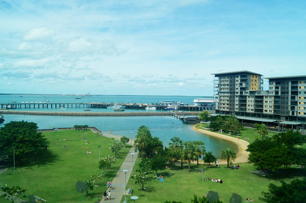 Darwin Cullen Bay Beach