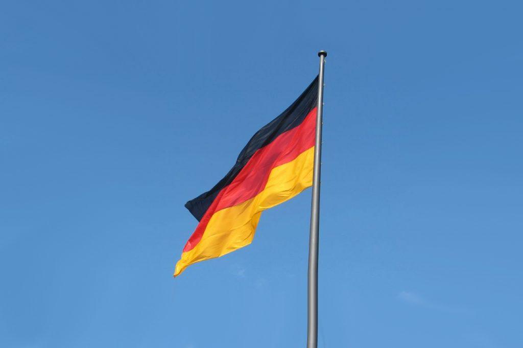 German Flag by Will Palmer