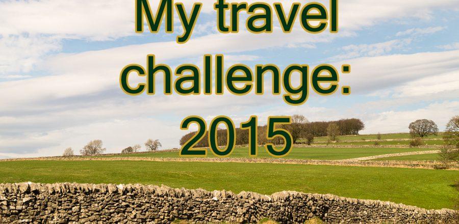 My Travel Challenge 2015